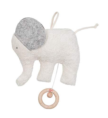 Efie, caja de música elefante, melodía canción de cuna de Brahms