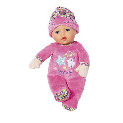BABY Born 829684 Sleepy muñeca de 30 cm - pequeña y suave - ligera para manos pequeñas, el juego creativo promueve la empatía y las habilidades sociales, para recién nacidos - incluye gorro de dormir