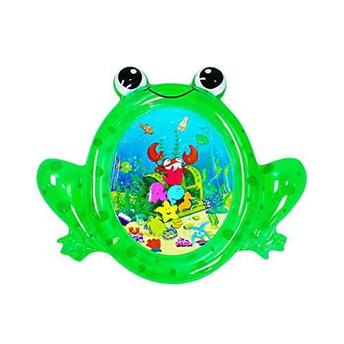 Alfombrilla de agua inflable Festnight, alfombrilla de juego para la barriga infantil, centro de actividades divertidas para niños pequeños