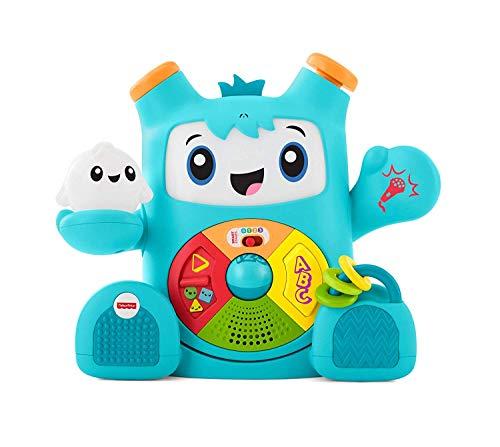 Fisher-Price FXD03 - Rockit, juguete de aprendizaje interactivo para aprender letras, números, formas y colores, juguetes a partir de los 6 meses, en alemán