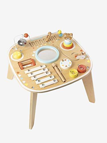 Mesa de juego Vertbaudet con música, multicolor