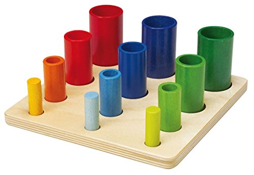 NIC 64550 Vasos apilables Juegos educativos, coloridos
