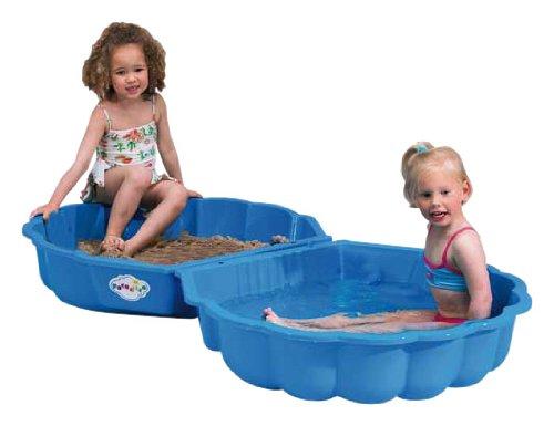 Paradiso Toys T00752 - mejillón de arena o de agua 2 partes 86 x 80 x 20 cm azul