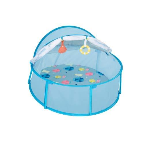 Babymoov Babyni carpa de playa y cuna de viaje, protección UV 50+