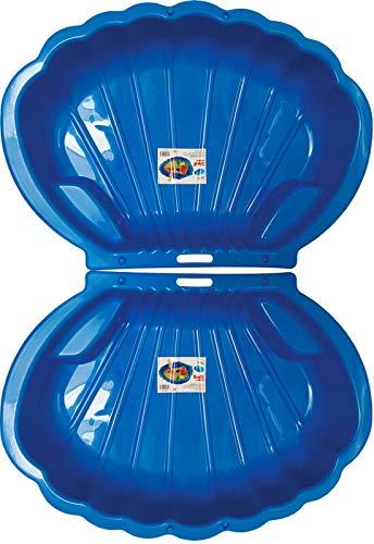 Cajón de arena de 2 plazas concha de arena concha piscina para niños grande 108x79cm XL, 5 colores!  (Azul)