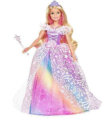 Barbie GFR45 - Muñeca princesa con vestido de bola Dreamtopia con cabello rubio, muñecas juguetes y accesorios para muñecas a partir de 3 años [Exclusivamente en Amazon]