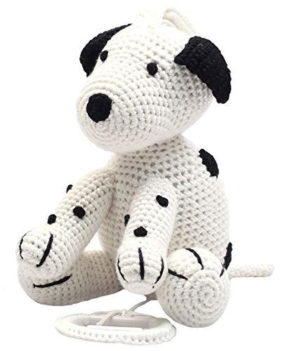 caja de música natureZOO (perro blanco)