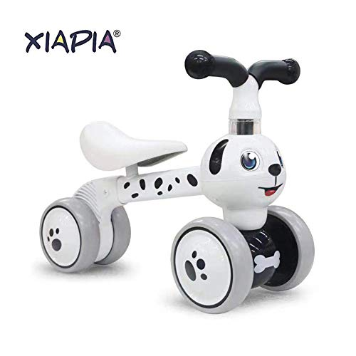 Bicicleta de equilibrio para niños XIAPIA de 1 año de edad, andador para bebés de 10 a 36 meses, prueba TÜV, vehículo de bicicleta de primer paseo, regalos para niños / niñas, juguetes para niños pequeños