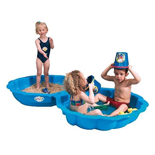 IMP 703 - Mejillón de arena / agua Paradiso Toys, 2 partes, azul