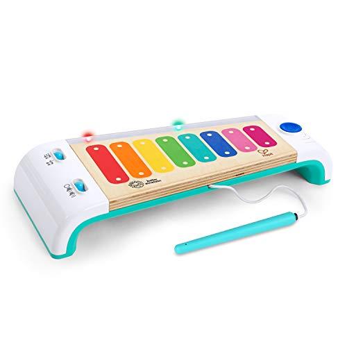 Juguete musical xilófono Baby Einstein Hape Magic Touch con luces de madera, a partir de los 12 meses