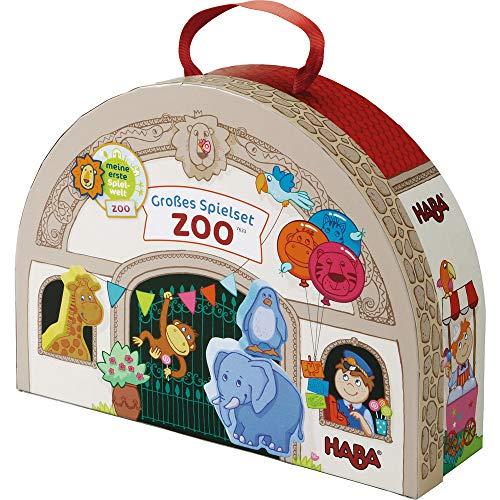 HABA 7633 - Mi primer zoológico mundial de juego - Conjunto de juego grande