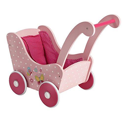Andador para bebés a prueba de vuelcos con funda de tela