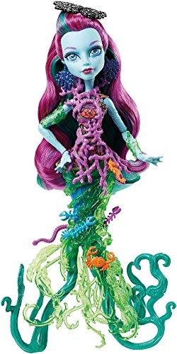Monster High DHB48 - muñecas de moda, The Great Dread Reef, Posea Reef