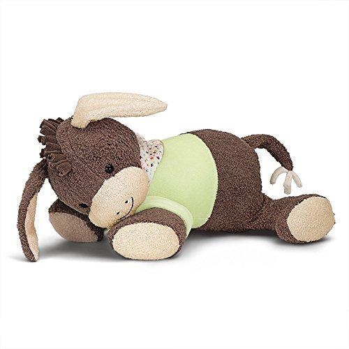 Sterntaler sleep-well figure burro Emmi DE 34407560) con módulo de sonido cardíaco integrado, edad: Para bebés desde el nacimiento, 30 cm, marrón