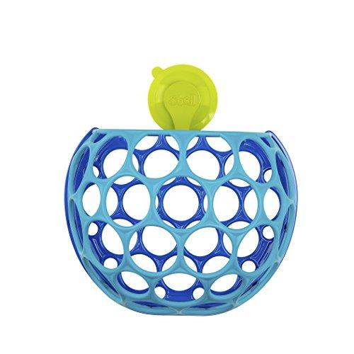 Bright Starts, cesta de almacenamiento Oball y juguete de baño en uno, fácil de pescar fuera del agua, secar y almacenar