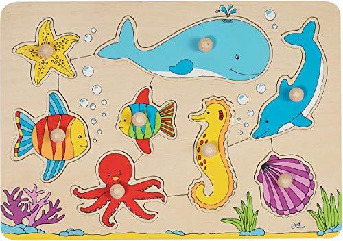 goki 57953 - Puzzle apilable - Mundo submarino