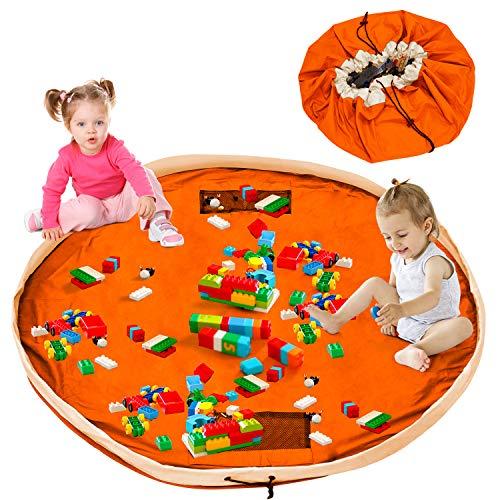 Bolsa de almacenamiento para niños Lego saco bolsa de juguete bolsa de almacenamiento bolsa de almacenamiento de algodón XXL alfombra 150cm