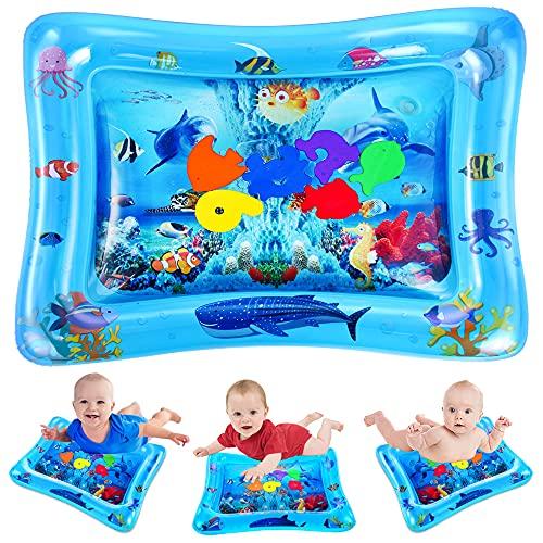 VATOS - Alfombrilla de agua para bebés, juguetes para bebés de 3 6 9 meses, alfombrilla de agua para bebés es un juguete sensorial perfecto para los centros de actividades de desarrollo temprano del bebé