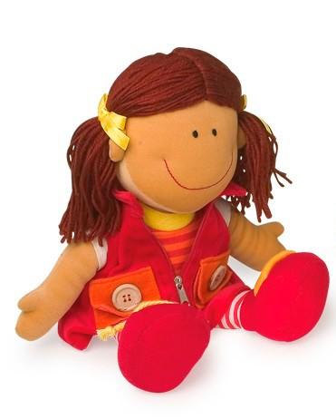 muñeca para que los niños aprendan a vestirse