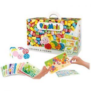 playmais, formas y colores