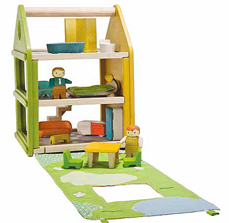 juguete casitas de muñecas