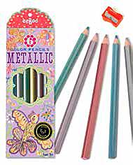lapices de colores metálicos