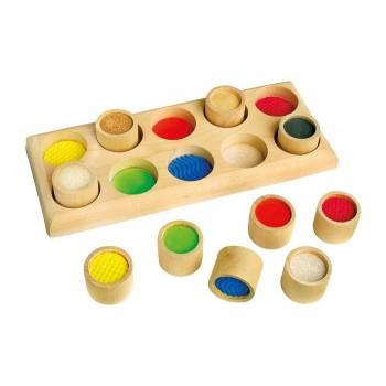 juguete para niños con discapacidad visual, memo tactil