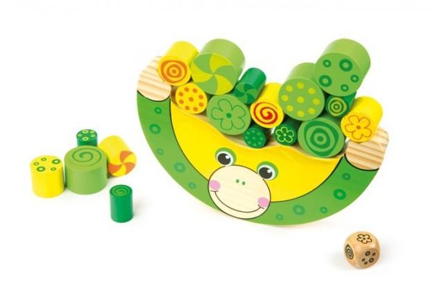 juguete mono equilibrisa para ejercitar la motricidad fina en niños con discapacidad