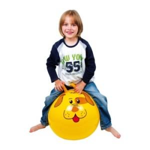 pelota para entrenar la motricidad gruesa en niños con discapacidad