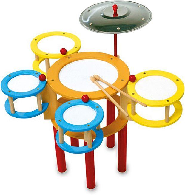 juguete musical, bateria de colores
