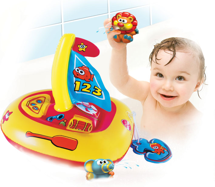 juguetes de bebes para el baño