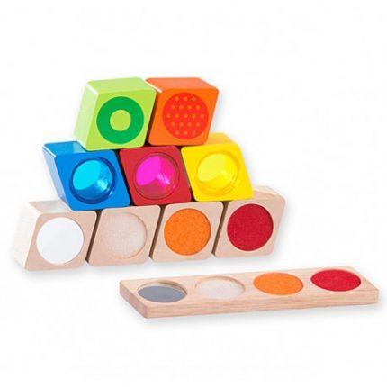 juguetes bloques sensoriales
