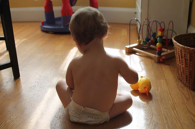 juegos y actividades físicas para bebés