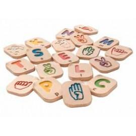 abecedario dactilogico o en lengua de signos