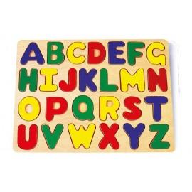 puzzle para enseñar el abecedario
