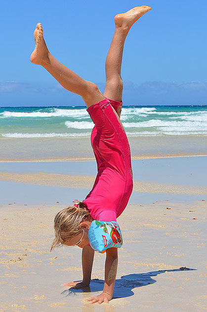 actividades fisicas en verano para niños de preescolar