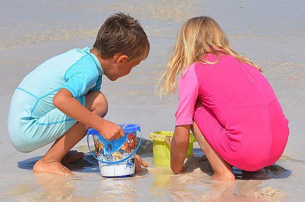 juegos en la arena para mejorar el vocabulario de los niños