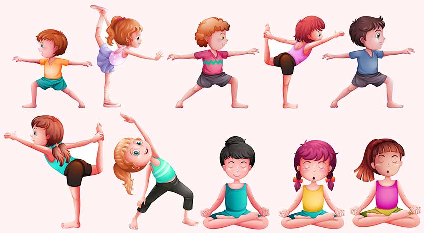 Yoga para Niños - Plaza Family