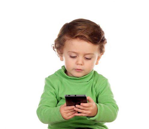 tecnologia y niños pequeños
