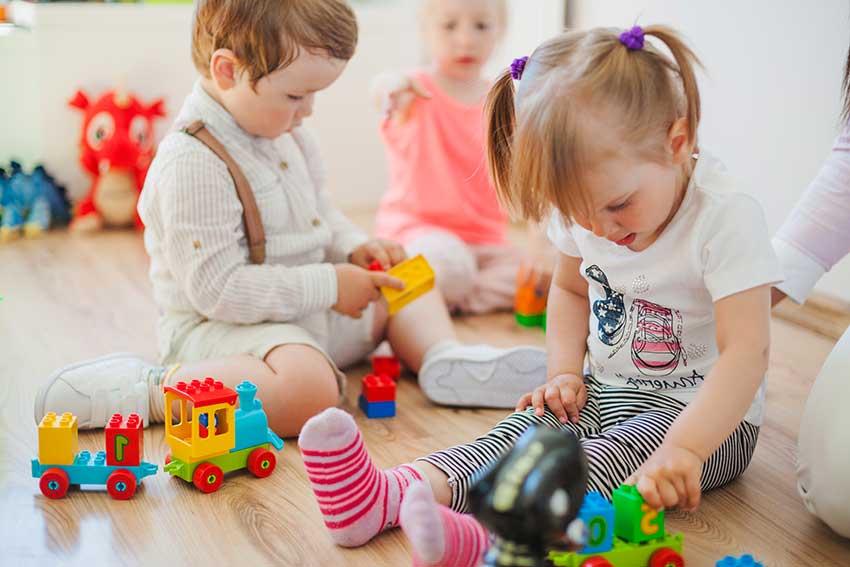 el juego en la edad de preescolar
