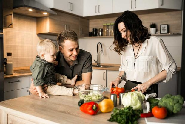 COCINA y familia
