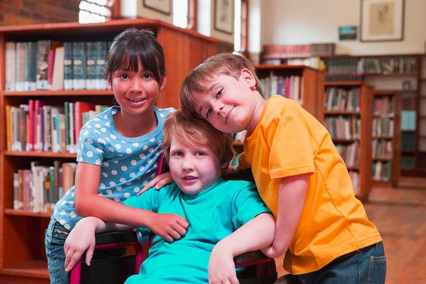 discapacidad y amistad infantil