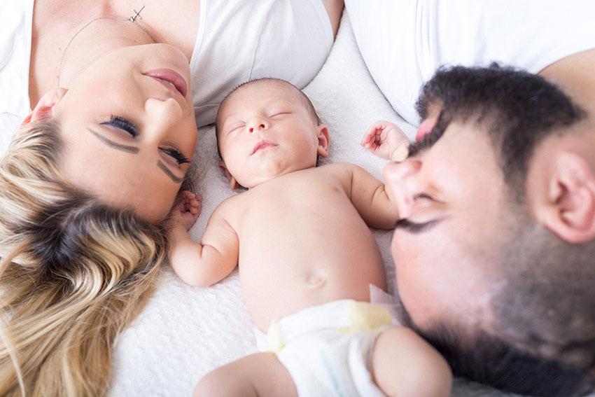 primera semana de vida del bebe