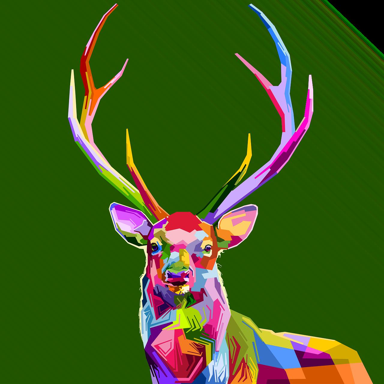 dibujo de ciervo