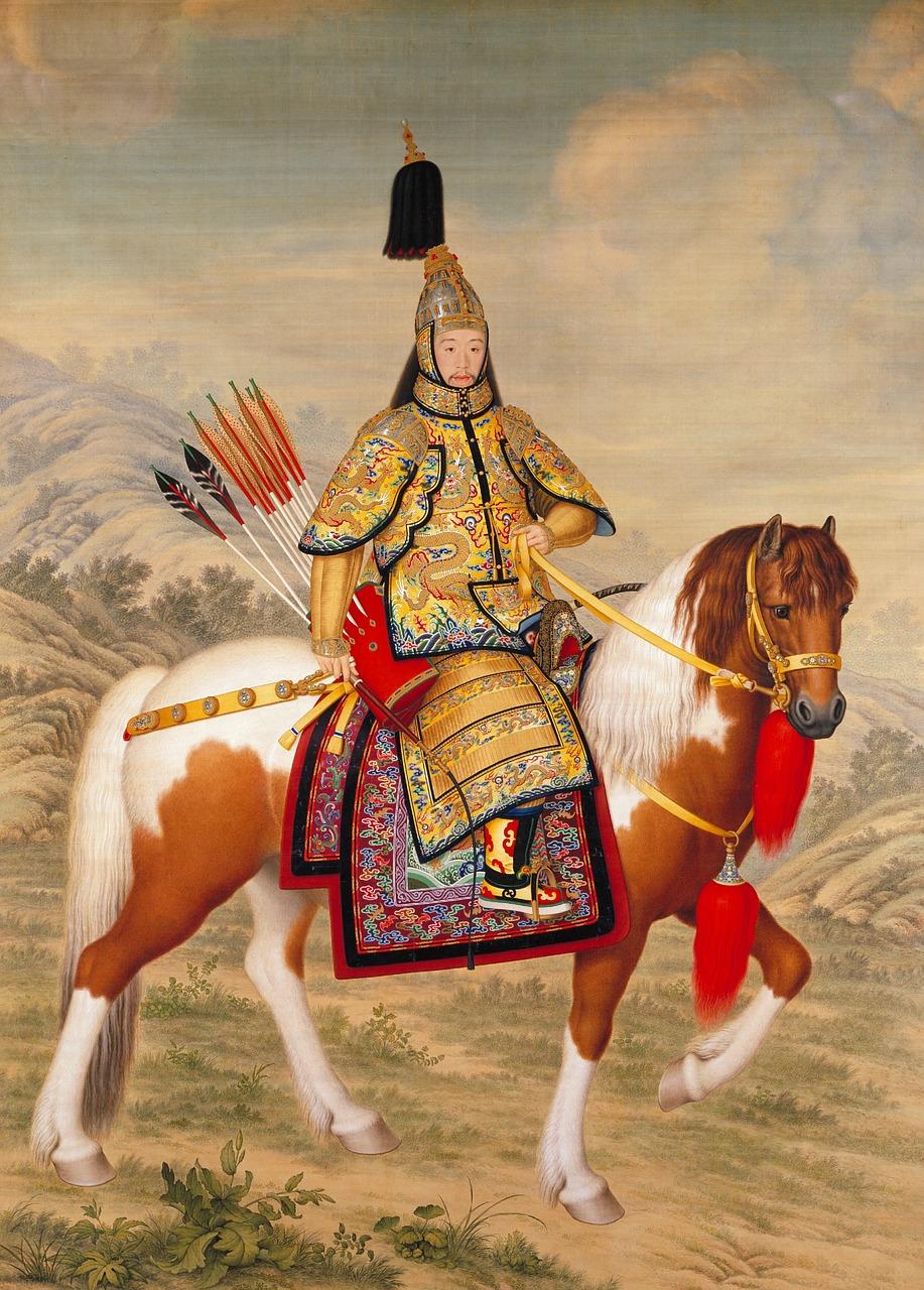 dibujo de emperador