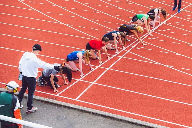 atletismo y niños