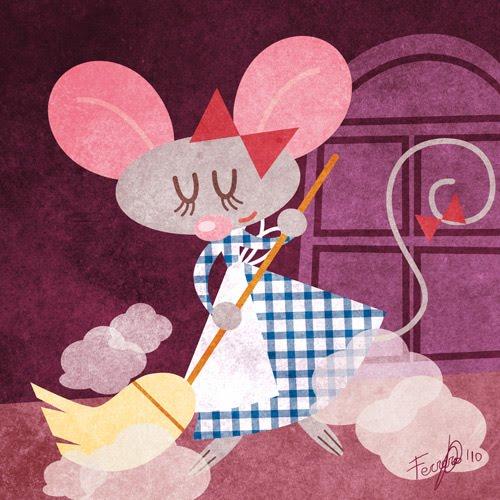 cuento infantil de la ratita presumida