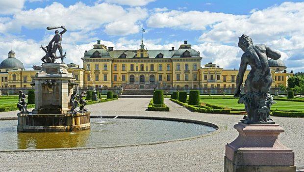 estocolmo: palacio de drottningholm