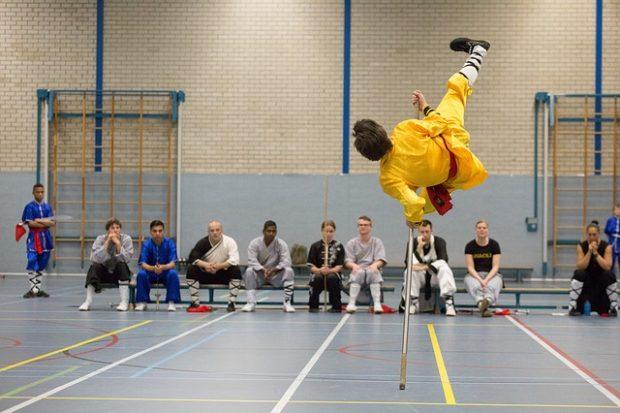 salto de kung fu