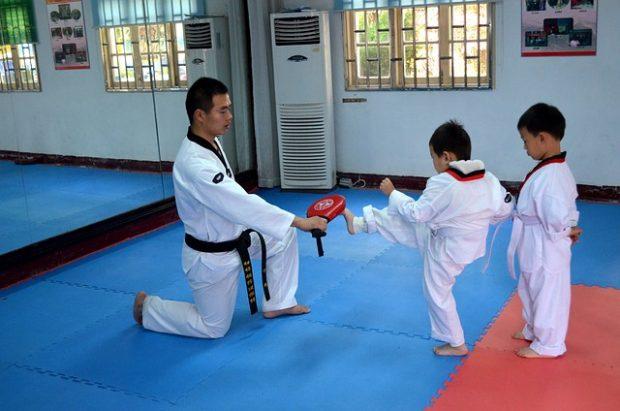 taekwondo y niños